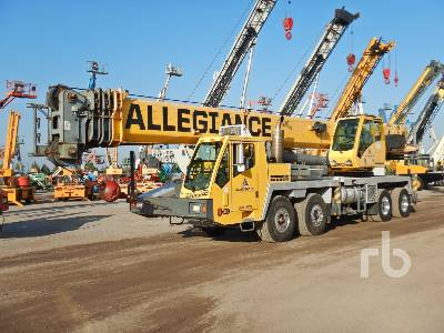 2006 GROVE TMS880E 80 Ton 8x4x4 Hydraulic Truck Crane