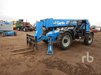 2017 GENIE GTH1056 10000 Lb 4x4x4 Telescopic Forklift