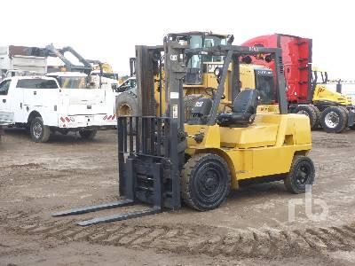2003 CATERPILLAR DP40K 6700 Lb Forklift