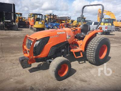 2015 KUBOTA MX4800D 4WD Utility Tractor