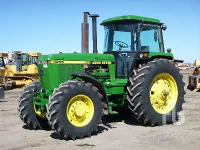 1991 JOHN DEERE 4255 MFWD Tractor