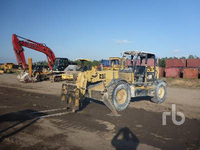 1998 CATERPILLAR TH103 10000 Lb 4x4x4 Telescopic Forklift