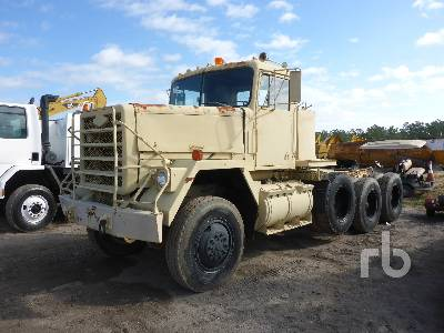 1980 AM GENERAL M920 8x6 Winch Tractor