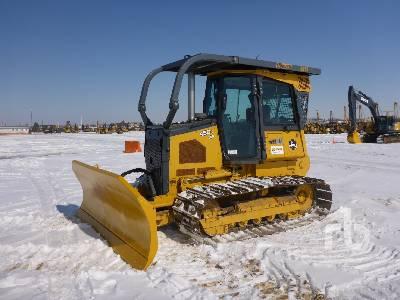 2012 JOHN DEERE 450J LGP Crawler Tractor