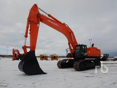 2014 HITACHI ZX870LC-5B Hydraulic Excavator
