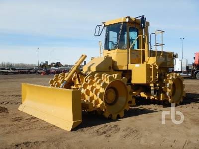 1989 CATERPILLAR 815B Converted From 816B Compactor