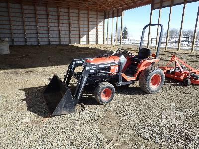 1999 KUBOTA B7300HSD 4WD Utility Tractor