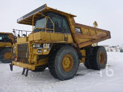 2004 CATERPILLAR 773E Rock Truck