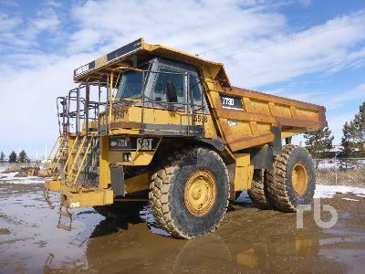 1998 CATERPILLAR 773D 4x4 Rock Truck