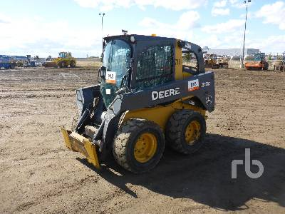 2008 JOHN DEERE 318D Skid Steer Loader