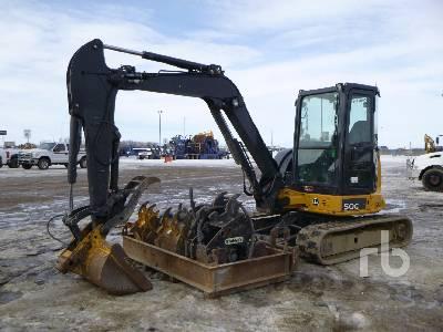 2016 JOHN DEERE 50G Midi Excavator (5 - 9.9 Tons)