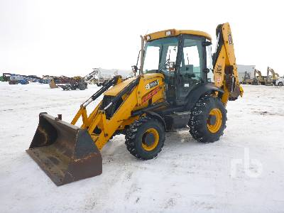 2010 JCB 214 4x4 Loader Backhoe
