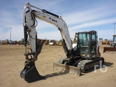 2018 BOBCAT E85 Midi Excavator (5 - 9.9 Tons)