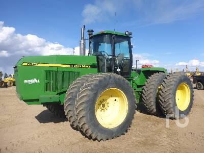 1990 JOHN DEERE 8960 4WD Tractor