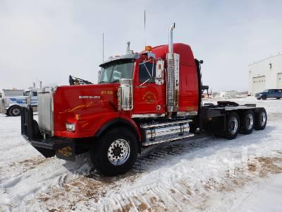 2007 WESTERN STAR 4900SA Tri Drive Sleeper Winch Tractor