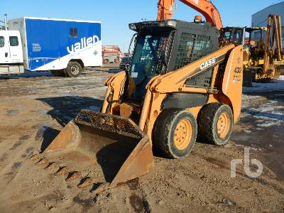 2010 CASE 430 Series 3 2 Spd High Flow Skid Steer Loader