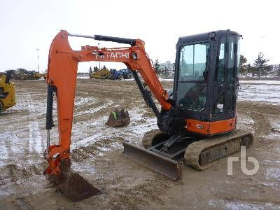 2011 HITACHI ZX27U-3 Mini Excavator (1 - 4.9 Tons)