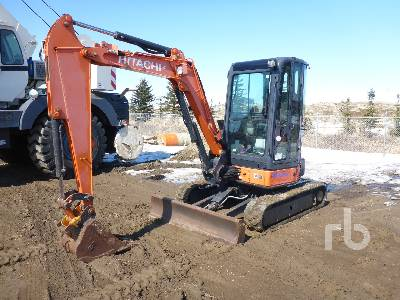 2011 HITACHI ZX35U-3 Mini Excavator (1 - 4.9 Tons)