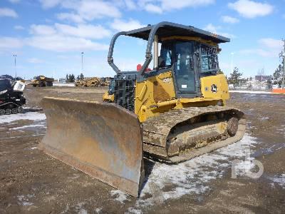 2012 JOHN DEERE 750J LGP Crawler Tractor