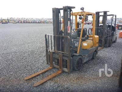 1990 TCM 6000 FCG30-3HL Forklift