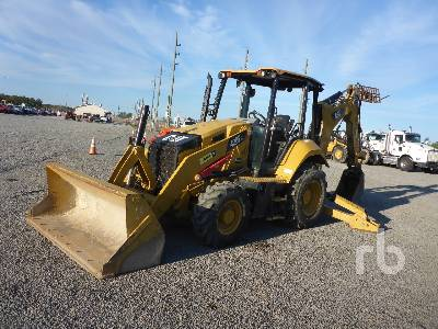 2015 CATERPILLAR 420F2 4x4 Loader Backhoe