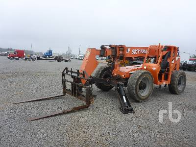 2014 JLG 10054 10000 Lb 4x4x4 Telescopic Forklift