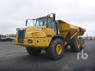 2015 BELL B40D 6x6 Articulated Dump Truck