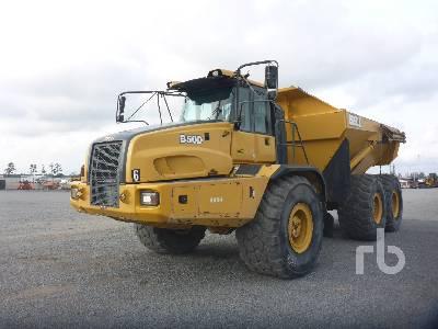 2013 BELL B50D 6x6 Articulated Dump Truck