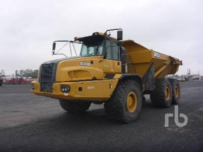 2015 BELL B50D 6x6 Articulated Dump Truck
