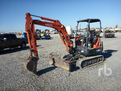 2015 KUBOTA KX91-3S2 Mini Excavator (1 - 4.9 Tons)