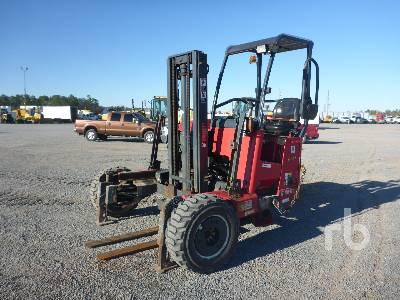 2011 MOFFETT M55.4 5500 Lb Piggy Back Forklift