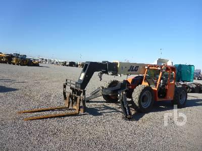 2016 JLG G1043A 10000 Lb 4x4x4 Telescopic Forklift