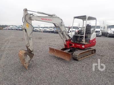 2016 TAKEUCHI TB240 Mini Excavator (1 - 4.9 Tons)
