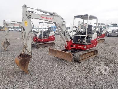2017 TAKEUCHI TB240 Mini Excavator (1 - 4.9 Tons)