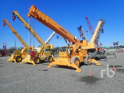2011 BRODERSON RT300-2F 15 Ton Rough Terrain Crane
