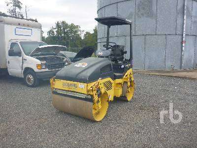 2013 BOMAG BW120AD-4 Tandem Vibratory Roller