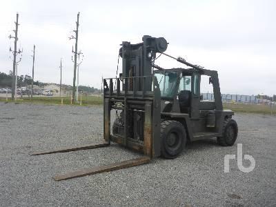 1990 CLARK C500-Y350G 22100 Lb Forklift