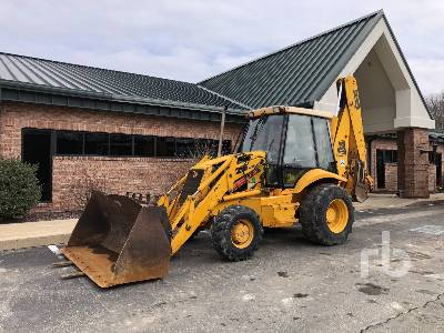 1998 JCB 215-4 Series 3 4x4 Loader Backhoe