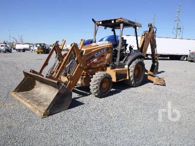 2012 CASE 580N 4x4 Loader Backhoe