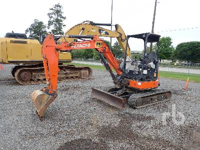 2014 HITACHI ZX35U-5N Mini Excavator (1 - 4.9 Tons)