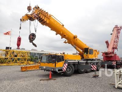 2005 LIEBHERR LTM1150-1 150 Ton 10x8x10 All Terrain Crane