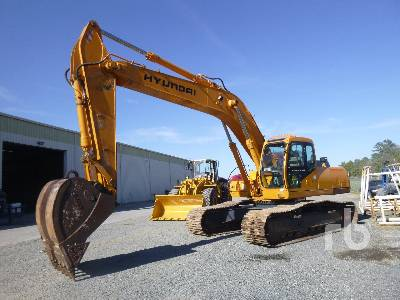 1999 HYUNDAI ROBEX 290LC-3 Hydraulic Excavator