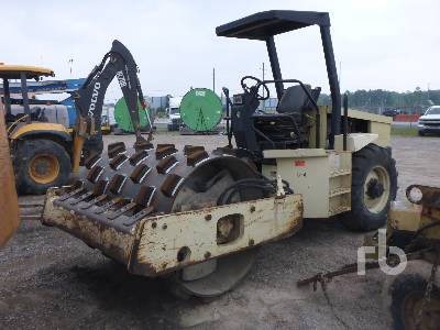 INGERSOLL-RAND SD70F Vibratory Padfoot Compactor