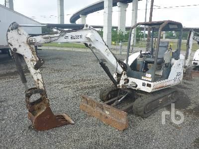 BOBCAT 331G Mini Excavator (1 - 4.9 Tons)