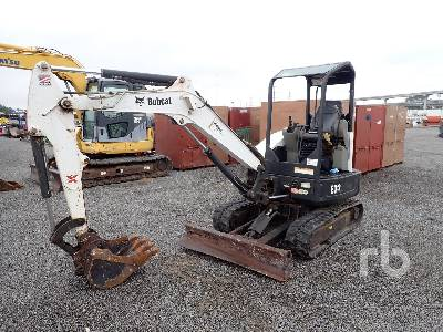 2012 BOBCAT E32M Mini Excavator (1 - 4.9 Tons)