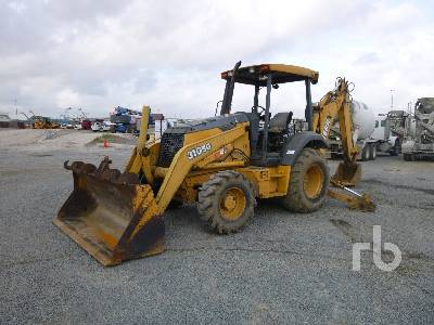 JOHN DEERE 310SG 4x4 Loader Backhoe