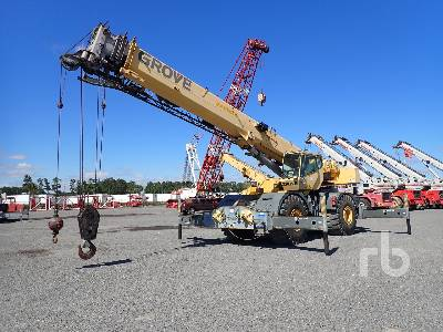 2002 GROVE RT760E 60 Ton 4x4x4 Rough Terrain Crane