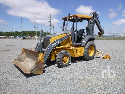 2014 JOHN DEERE 310EK 4x4 Loader Backhoe
