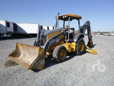 2008 JOHN DEERE 310SJ 4x4 Loader Backhoe