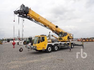 2006 GROVE TMS760E 60 Ton T/A T/A Hydraulic Truck Crane